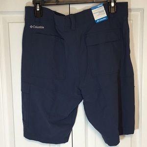 Men's Columbia Omni shade shorts waist 32
